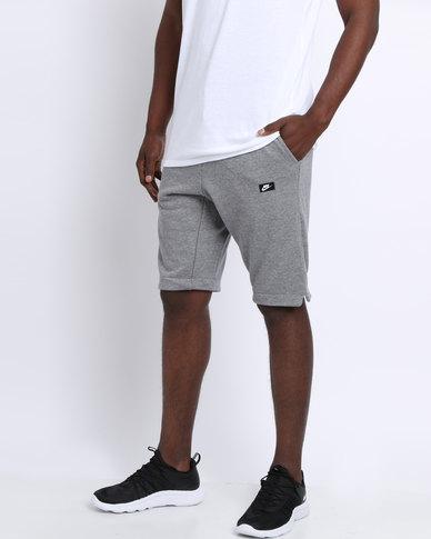 1d7ab07138b1 Nike NSW Modern Shorts FT Grey