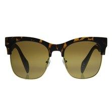 Lentes & Marcos Sevilla UV400 Tortoise-Shell Clubmaster Sunglasses