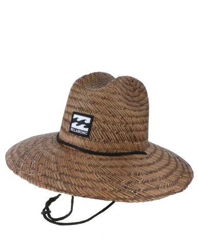 Billabong Buzza Straw Hat Brown  4158e3f8fbf