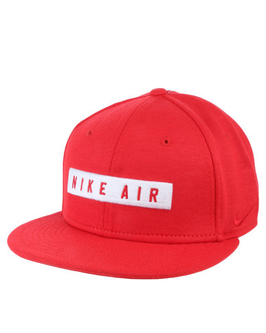 4aa502b859b Nike Air 92 True Cap- EOS by Nike Red