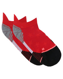 Stance Performance Uncommon Tab Socks Red