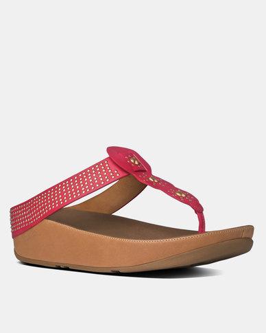 pre order discount Inexpensive FitFlop FitFlop Boho Wedge Sandal Raspberry wG1eLiaQU