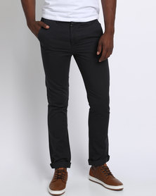 Scrubber Antiqu Slim Fit Chinos Ink Navy