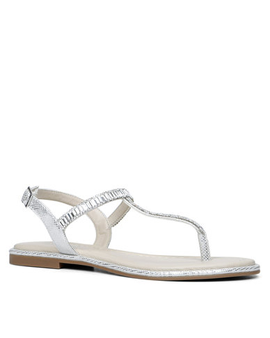 e3f717035 ALDO Ladies Thong Flat Sandal with Plastic Ornament