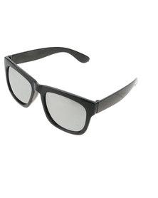 Miss Maxi Classic Black Wayfarer with Grey Lens Grey