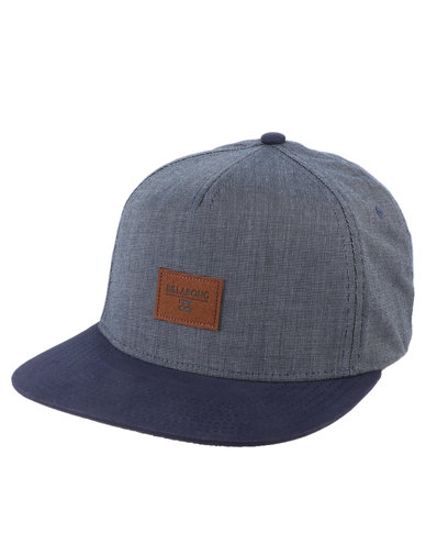 premium selection 510ab 85c6a Billabong Oxford Snapback Cap Blue   Zando