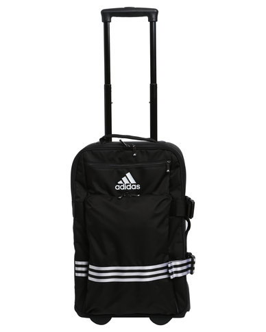 dcf473bb6d19 adidas Performance 3-Stripes Trolley Cabin Size Black
