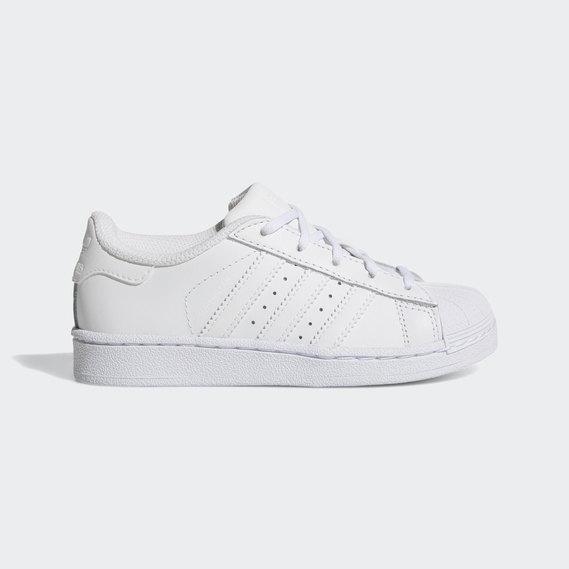 Adidas Superstar Kids Foundation White Black