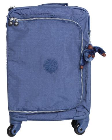 f484d12e6 Kipling Cyrah Small Cabin Spinner Bag Blue | Zando