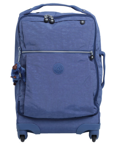 Kipling Darcey Small Spinner/ Cabin Size Jazzy Blue