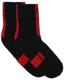 Versus Socks Straight Up Black/Red