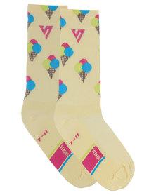 Versus Socks Ice Creams Multi