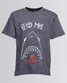 Rip Curl Feed Me Classic Charcoal