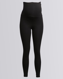 Me-A-Mama Miracle Leggings Black