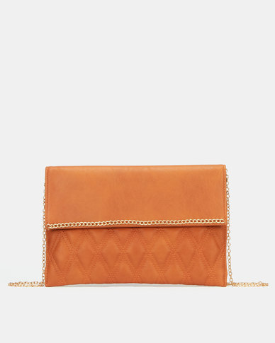 Blackcherry Bag Foldover Clutch Bag Nude