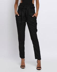 Eve Emporium Tailored Wrap Pants Black