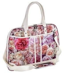 BLACK® Shoulder Sling Bag Rose Print