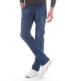 Top Warrior Top Life Jeans Blue