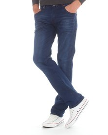 Top Warrior Top Act Jeans Blue