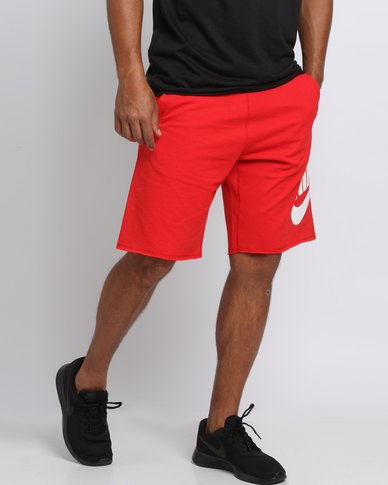 10ecee7040b8 Nike M NSW Short FT GX 1 Red