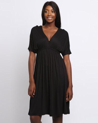 8c0044884f8c Utopia Fit & Flare Midi Dress Black | Zando
