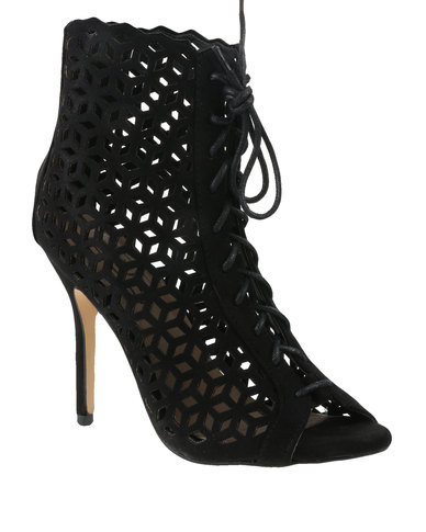 Zoom Eva Patterned Heel Black