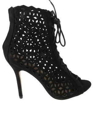 Zoom Eva Patterned Heel Black