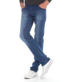 Jack Lee's Mr. Class Denim Jeans Blue