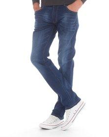 Jack Lee's Mr. Level Straight Leg Jeans Blue