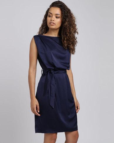 Shift Dress with Belt