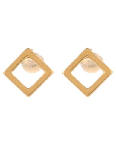Xcalibur Mens 2pk Geometric Studs Gold-tone