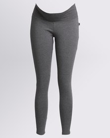 Cherry Melon Basic Leggings Grey