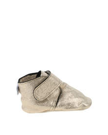 Shooshoos Harriot Pull On Prewalker Limited Edition Shoes Gold