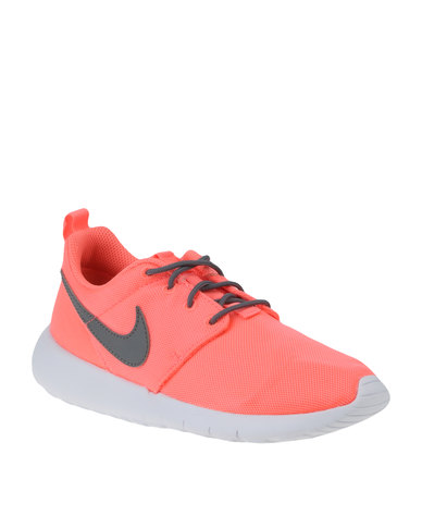 low priced f40b2 b1d87 Nike Roshe One (GS) Sneaker Lava Glow Pink