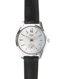 Henry London Mens Piccadilly Watch Black