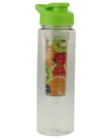 Civvio Fruit Infuser Water Bottle Clear