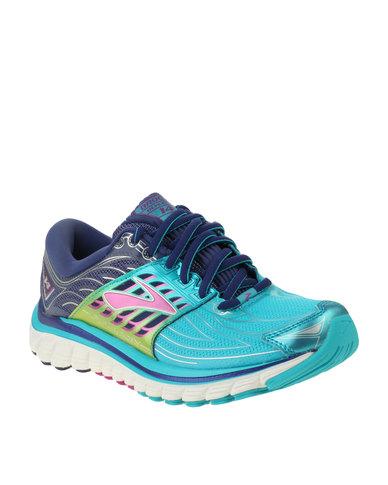 7e15c18f188 Brooks Glycerin 14 Womens Running Shoes Blue