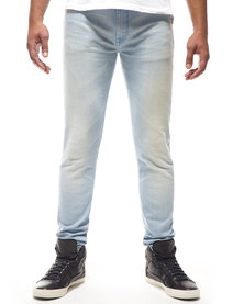 Kings Of Denim Skinny FX3 Airstream Jeans Bleached Blue