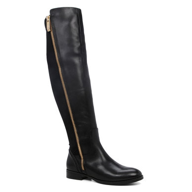 30ddb401633 ALDO Flat Over-The-Knee Boots Black