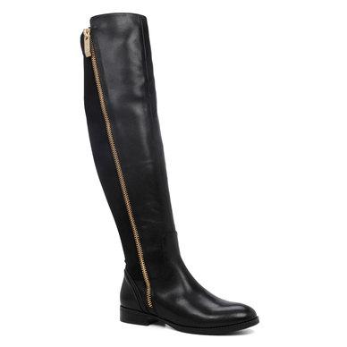 bba472fe6ca ALDO Flat Over-The-Knee Boots Black