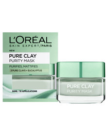 DISC L'Oreal Pure Clay Purify Mask 50ml