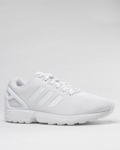 newest d91f6 7024a adidas ZX Flux Sneaker Mono White   Zando