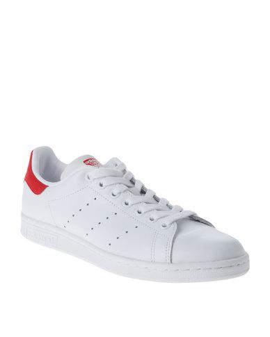 online store 3e43f 0cef2 adidas Stan Smith Sneaker White/Red