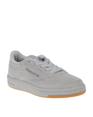 Reebok Club C Tonal Gum Sneakers Grey  9a2b9414eaf6