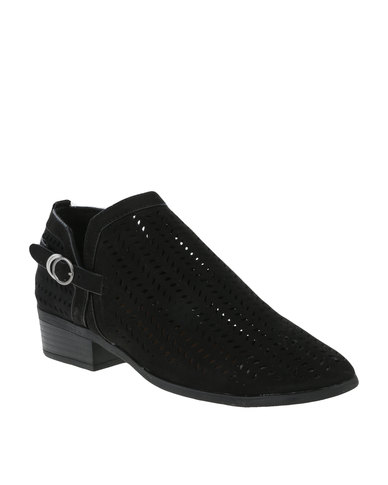 cheap shop offer ZOOM ZOOM Stella Cut Out Heeled Boot Black cheap online store Manchester P1Vn1vP9y
