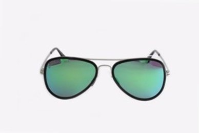 6d68f1d52d Complete the look. Lentes & Marcos Usera Polarised Mirrored Aviator  Sunglasses ...