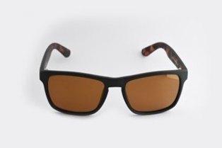 760c27258ab78 Lentes   Marcos Portazgo UV400 Polarized Dark Tortoise-Shell Wayfarer  Sunglasses