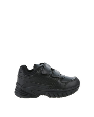 b3e3e85c3b93 My School Tekkie Velcro Sneaker Black
