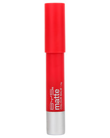 BYS Matte Lip Colour Balm Devilish Red
