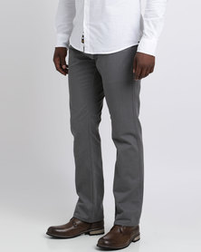 Klevas Classic Core Chinos Charcoal
